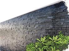 חיפוי קירות אפור