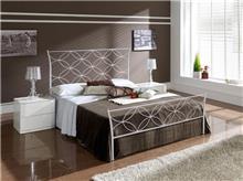 מיטת מתכת לבנה - DUPEN (דופן)