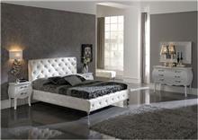 מיטה זוגית לבנה - DUPEN (דופן)