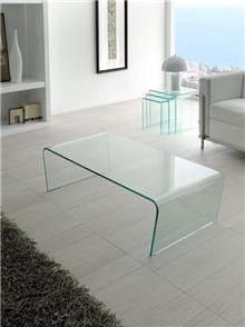שולחן מזכוכית לסלון - DUPEN (דופן)