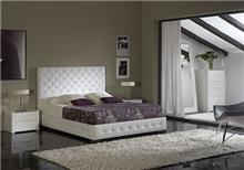 מיטה זוגית בריפוד קפיטונג' - DUPEN (דופן)