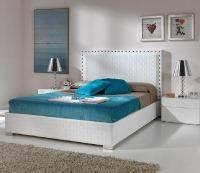 מיטה בצבע לבן - DUPEN (דופן)