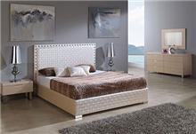 מיטה בצבע מוקה - DUPEN (דופן)