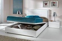 מיטה זוגית עם ארגז - DUPEN (דופן)