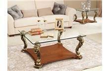 שולחן קפה זכוכית - DUPEN (דופן)