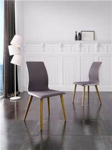 כסא מרופד בעיצוב מינימליסטי - DUPEN (דופן)