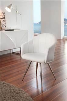 כסא מסתובב לבן - DUPEN (דופן)
