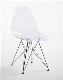 כסא מודרני שקוף - DUPEN (דופן)