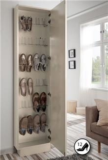 ארון נעליים משולב מראה - DUPEN (דופן)