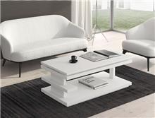 שולחן סלון לבן - DUPEN (דופן)