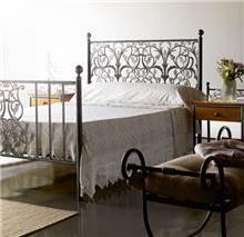 מיטת מתכת בעיצוב מיוחד - DUPEN (דופן)