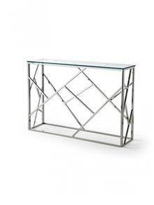 קונסולה מתכת וזכוכית - DUPEN (דופן)