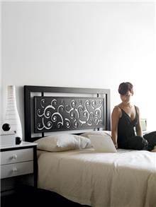 מיטת מתכת ריזוס