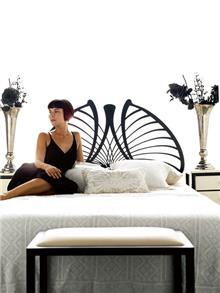 מיטת מתכת מעוצבת OLIMPIA - DUPEN (דופן)