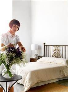 מיטת מתכת מעוצבת - DUPEN (דופן)