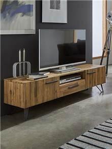 מעמד לטלויזיה מעץ מלא - DUPEN (דופן)