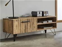 מעמד לטלויזיה מעץ מלא TV-605 - DUPEN (דופן)