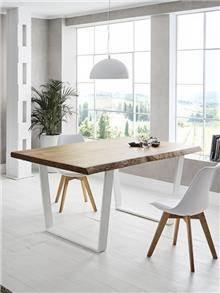 שולחן אוכל מעץ מלא - DUPEN (דופן)