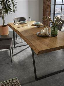 שולחן אוכל מעץ מלא DT-105 - DUPEN (דופן)