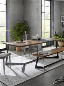 שולחן אוכל מעץ מלא DT-35 - DUPEN (דופן)