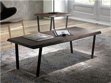 שולחן סלון מעץ מלא CT-100 - DUPEN (דופן)