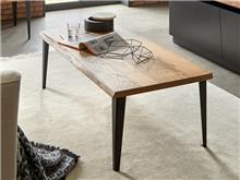 שולחן סלון מעץ מלא CT-107 - DUPEN (דופן)