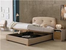 מיטה זוגית ברגן עם ארגז - DUPEN (דופן)