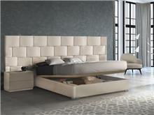 מיטה רחבה עם ארגז דגם ברלין - DUPEN (דופן)