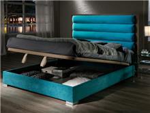 מיטה עם ארגז וראש מרופד - DUPEN (דופן)