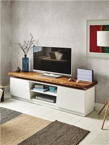 מעמד טלויזיה בשילוב עץ מלאTV-121 - DUPEN (דופן)