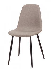 כסא אפור מרופד - DUPEN (דופן)