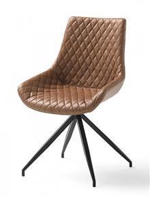 כסא מרופד מעוצב