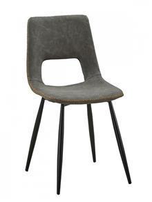 כסא רטרו דמוי עור - DUPEN (דופן)