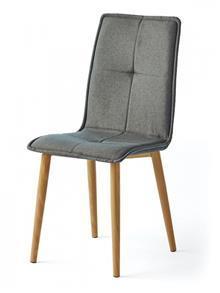 כסא מרופד בסגנון רטרו - DUPEN (דופן)
