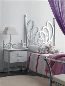מיטת יחיד ממתכת - DUPEN (דופן)