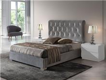 מיטה מרופדת בעיצוב קפיטונג' - DUPEN (דופן)