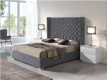 מיטה מרופדת עם מסגרת - DUPEN (דופן)