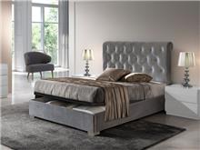 מיטה מרופדת עם ארגז מצעים - DUPEN (דופן)