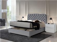 מיטה עם ארגז ראש קפיטונאז' - DUPEN (דופן)