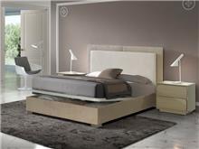 מיטה עם ארגז בשילוב צבעים - DUPEN (דופן)