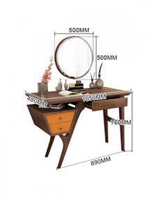שולחן איפור / שולחן כתיבה קרול - DUPEN (דופן)