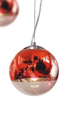 מנורה עגולה אדומה - ברק תאורה