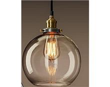 מנורת תלייה עגולה