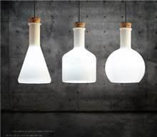 מנורת תליה דגם מילק שלישיה - ברק תאורה