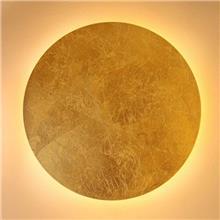 קיר מון עגול זהב - ברק תאורה