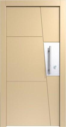 דלת כניסה לבנה רשפים