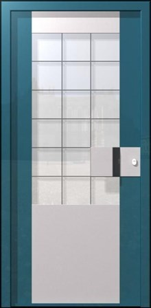 דלת פלדה מעוצבת