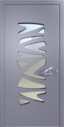 דלת אפורה לבית