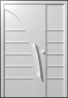 דלת פרובאנס לבנה
