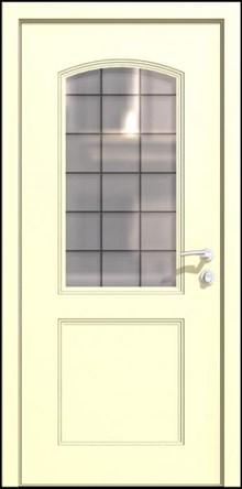 דלת פרובאנס מרשימה